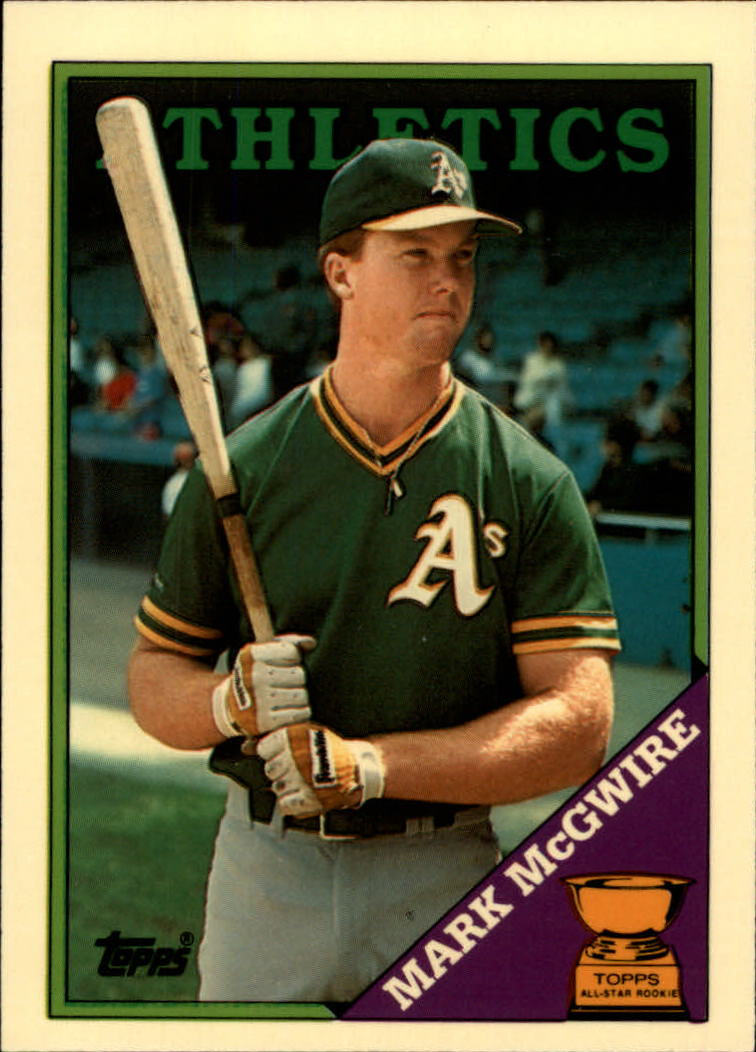 1988 Topps Tiffany #580 Mark McGwire