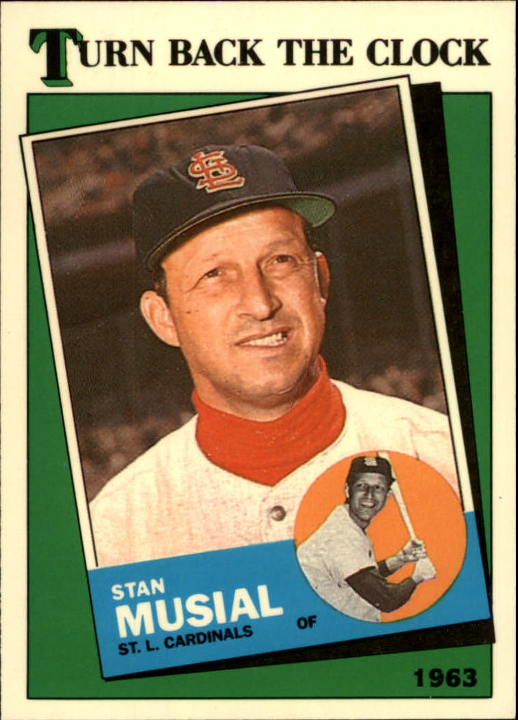 1988 Topps Tiffany #665 Stan Musial TBC