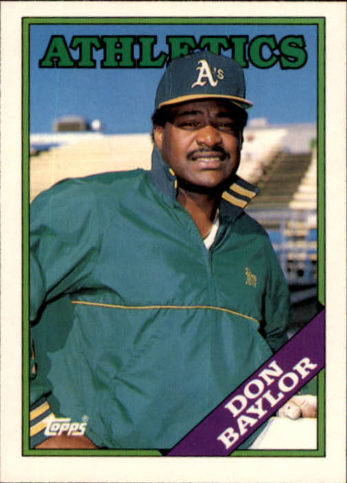 1988 Topps Traded #11T Don Baylor