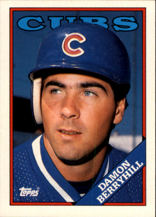 1988 Topps Traded #15T Damon Berryhill XRC*