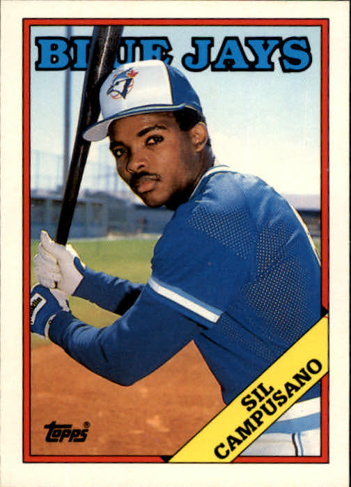 1988 Topps Traded #24T Sil Campusano