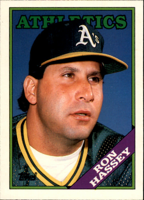 1988 Topps Traded #46T Ron Hassey