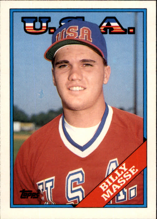1988 Topps Traded #67T Billy Masse OLY XRC