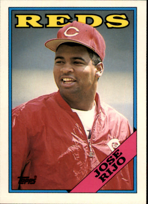 1988 Topps Traded #92T Jose Rijo