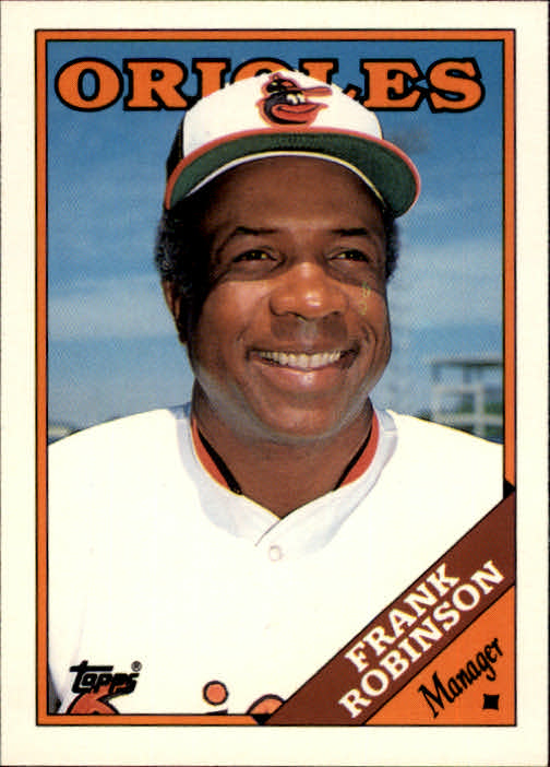 1988 Topps Traded #96T Frank Robinson MG