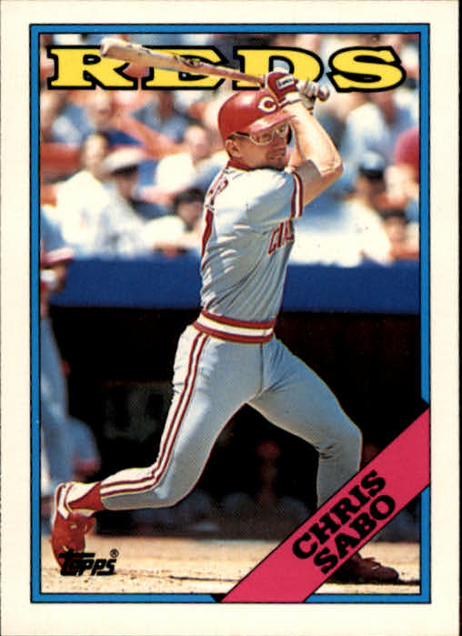 1988 Topps Traded #98T Chris Sabo XRC front image