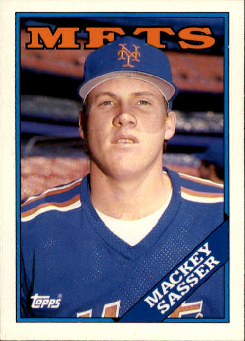 1988 Topps Traded #103T Mackey Sasser XRC
