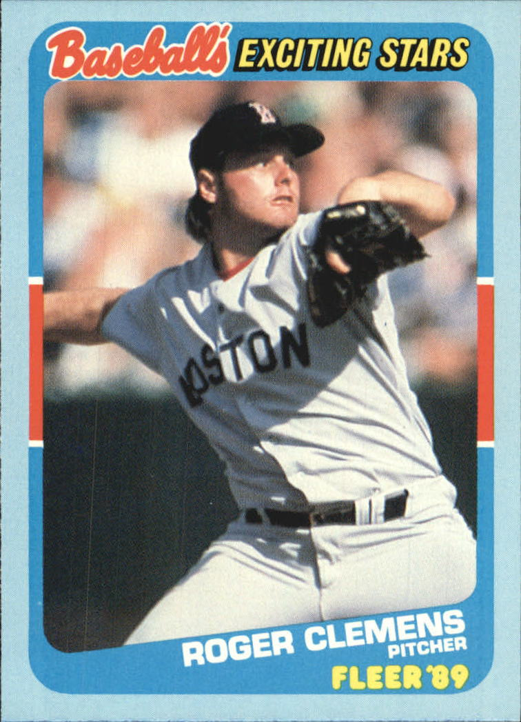 1989 Fleer Exciting Stars #6 Roger Clemens