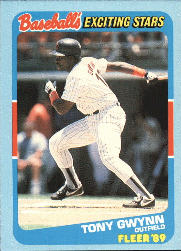 1989 Fleer Exciting Stars #20 Tony Gwynn