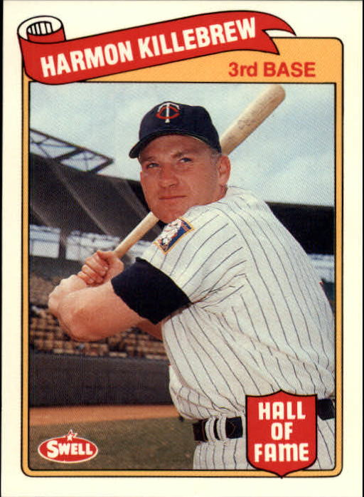 1989 Swell Baseball Greats #70 Harmon Killebrew
