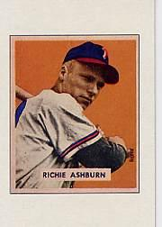1989 Bowman Reprint Inserts #1 Richie Ashburn 49