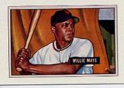 1989 Bowman Reprint Inserts #7 Willie Mays 51