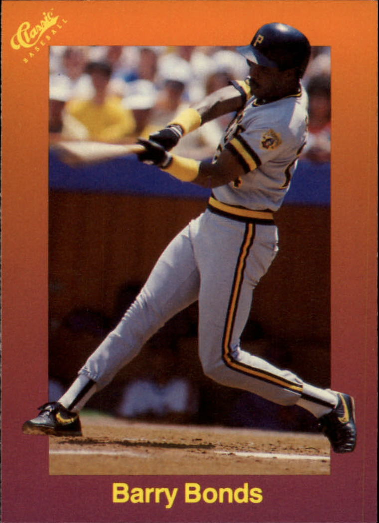 1989 Classic Travel Orange #117 Barry Bonds
