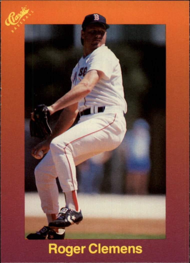 1989 Classic Travel Orange #119 Roger Clemens
