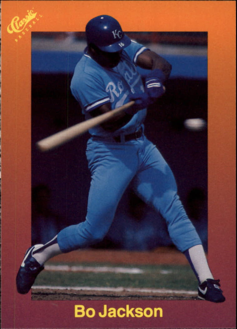 1989 Classic Travel Orange #122 Bo Jackson