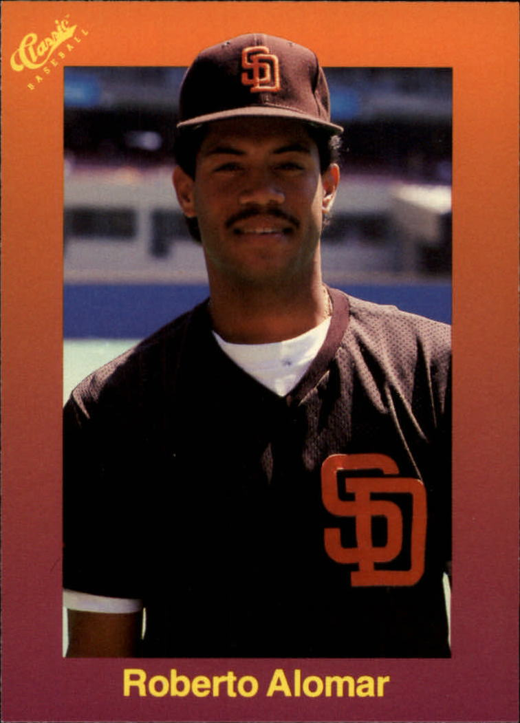 1989 Classic Travel Orange #127 Roberto Alomar