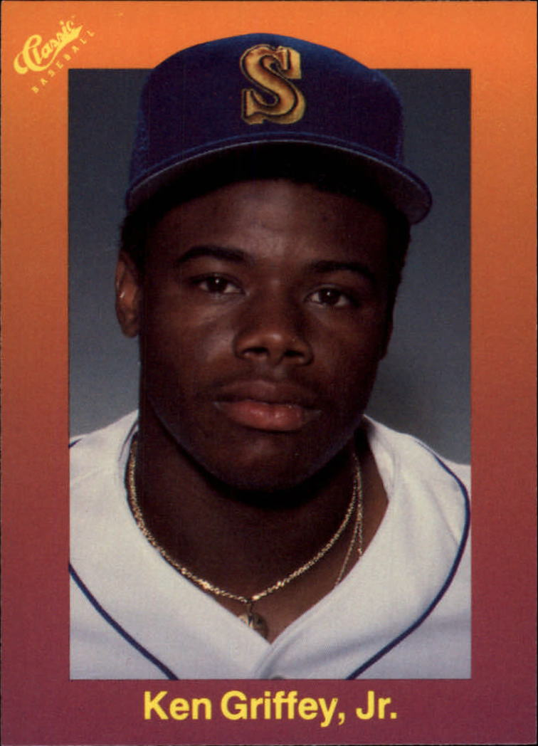 1989 Classic Travel Orange #131 Ken Griffey Jr.