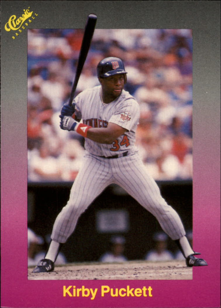 1989 Classic Travel Purple #176 Kirby Puckett
