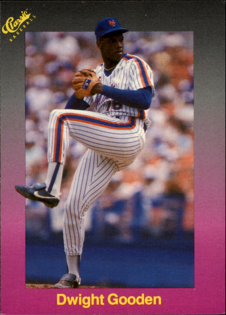 1989 Classic Travel Purple #189 Dwight Gooden