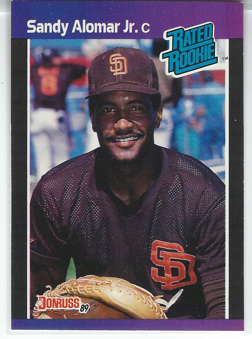 1989 Donruss #28 Sandy Alomar Jr. RC
