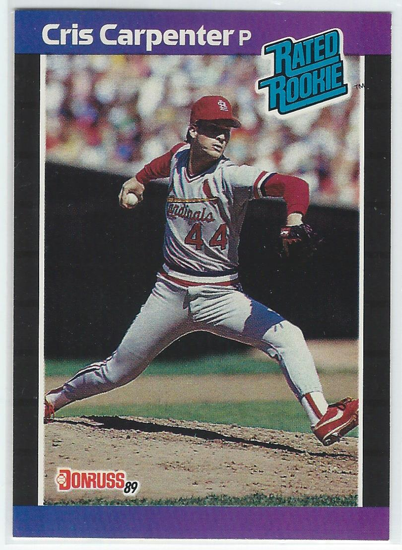 1989 Donruss #39 Cris Carpenter RC *