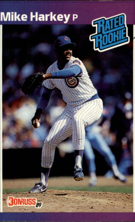 1989 Donruss #43 Mike Harkey RC