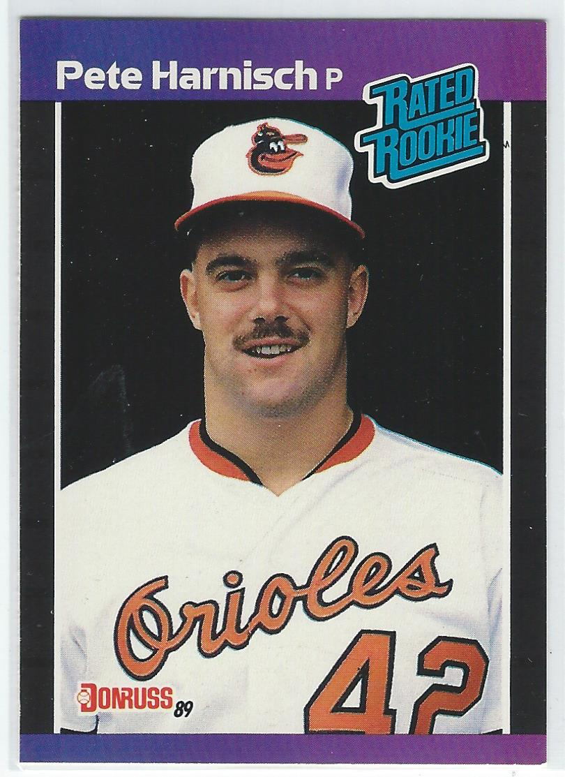 1989 Donruss #44 Pete Harnisch RC