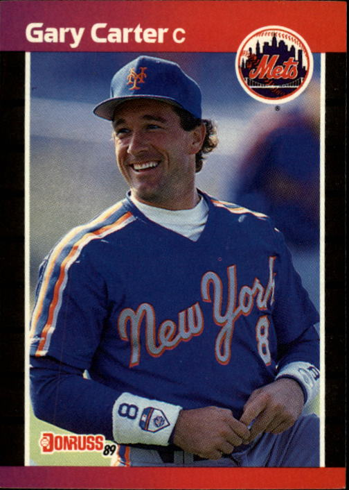 1989 Donruss #53 Gary Carter