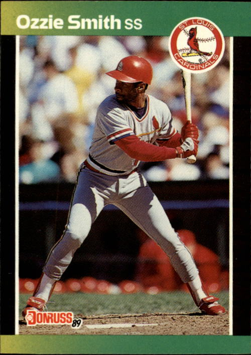1989 Donruss #63 Ozzie Smith