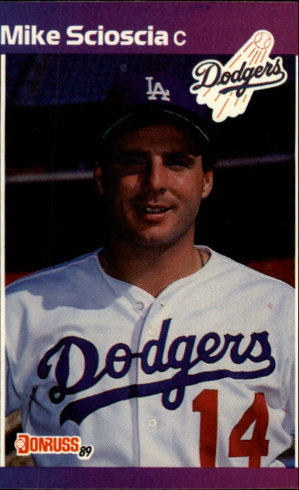 1989 Donruss #77 Mike Scioscia