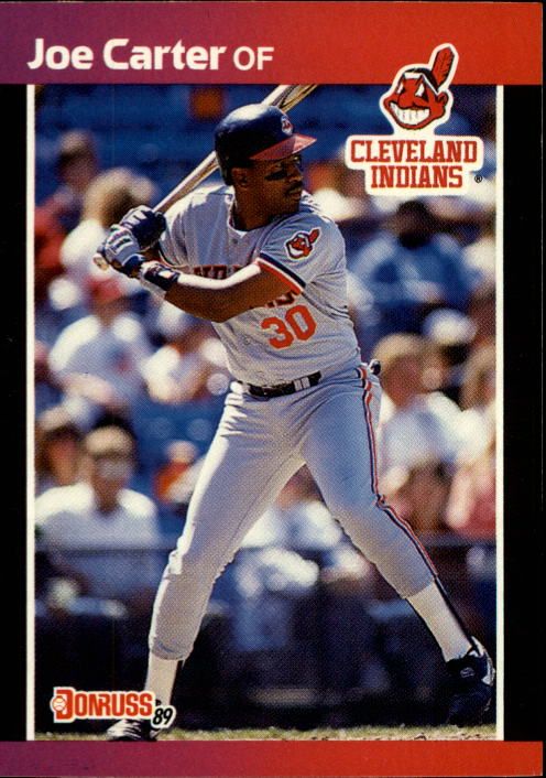 1989 Donruss #83 Joe Carter