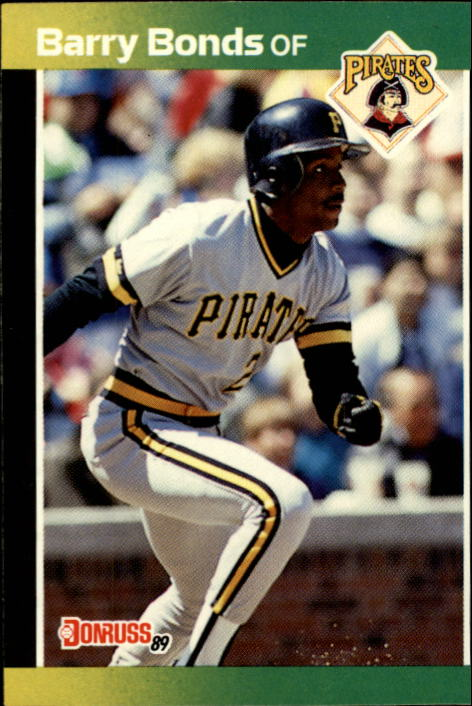 1989 Donruss #92 Barry Bonds