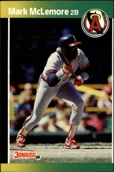 1989 Donruss #94 Mark McLemore