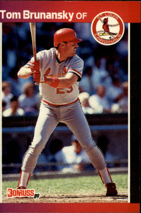 1989 Donruss #112 Tom Brunansky