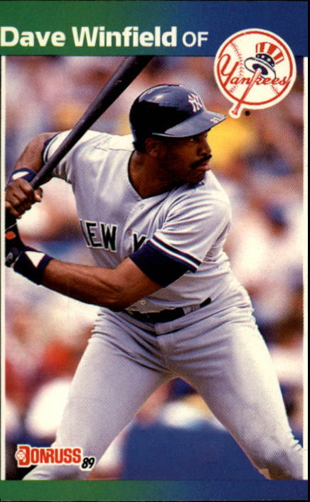1989 Donruss #159 Dave Winfield