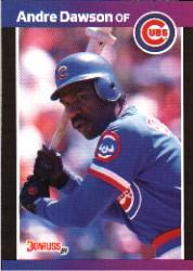 1989 Donruss #167 Andre Dawson