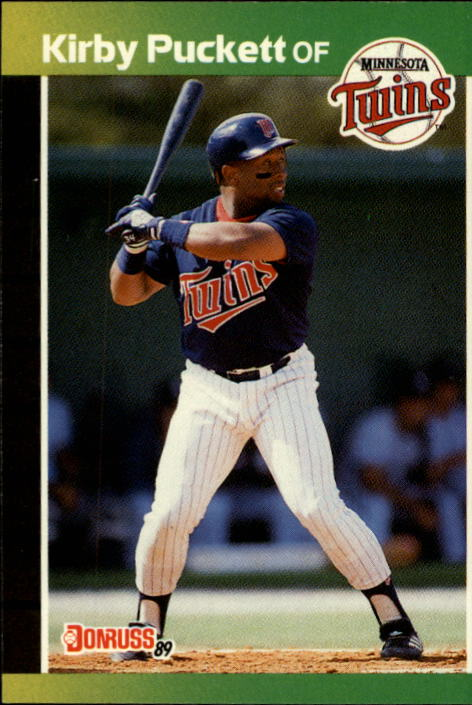 1989 Donruss #182 Kirby Puckett