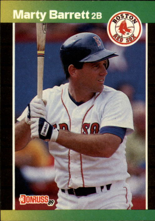 1989 Donruss #184 Marty Barrett