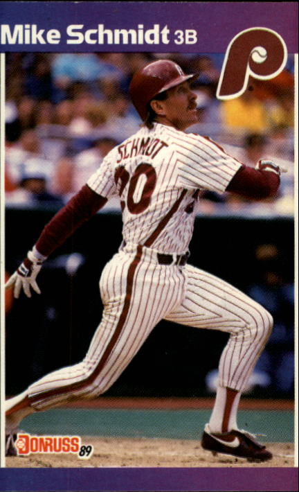 1989 Donruss #193 Mike Schmidt