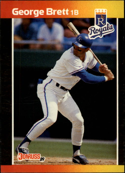 1989 Donruss #204 George Brett