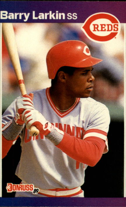 1989 Donruss #257 Barry Larkin