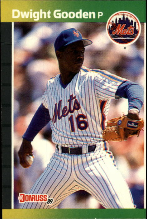 1989 Donruss #270 Dwight Gooden