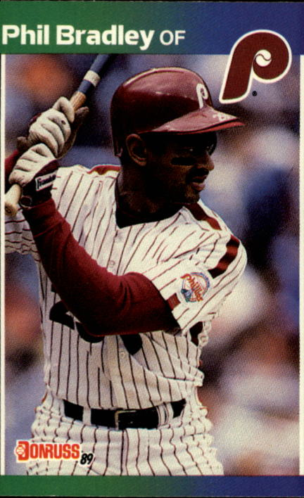 1989 Donruss #369 Phil Bradley