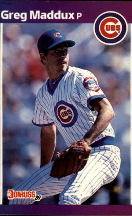1989 Donruss #373 Greg Maddux