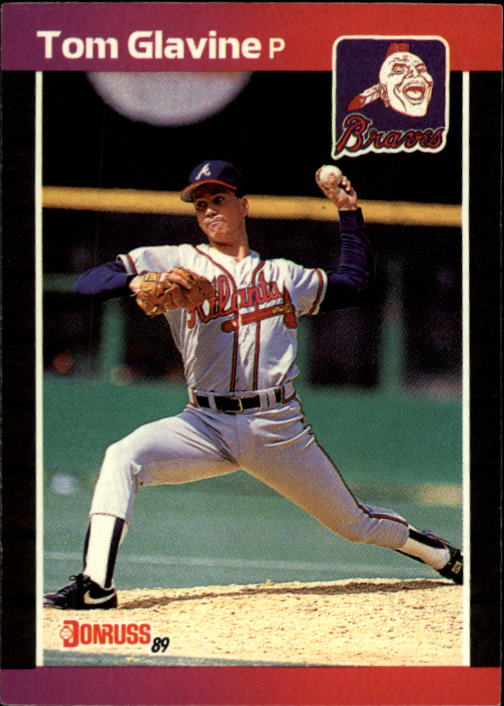 1989 Donruss #381 Tom Glavine
