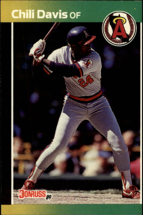 1989 Donruss #449 Chili Davis