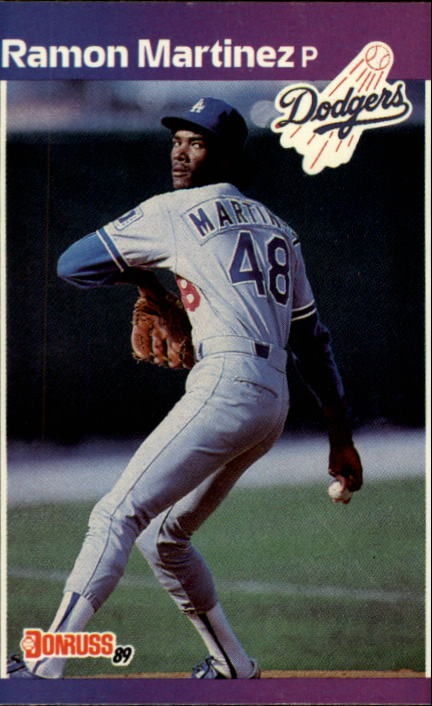 1989 Donruss #464 Ramon Martinez RC