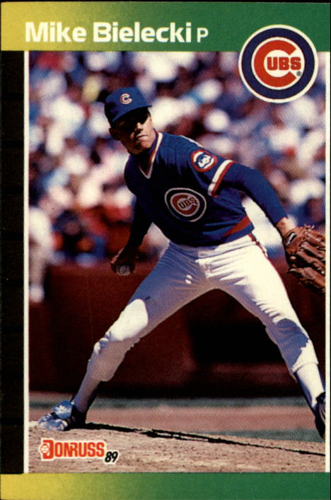 1989 Donruss #512 Mike Bielecki