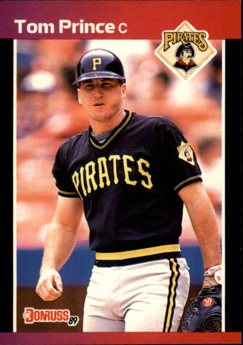 1989 Donruss #527 Tom Prince DP