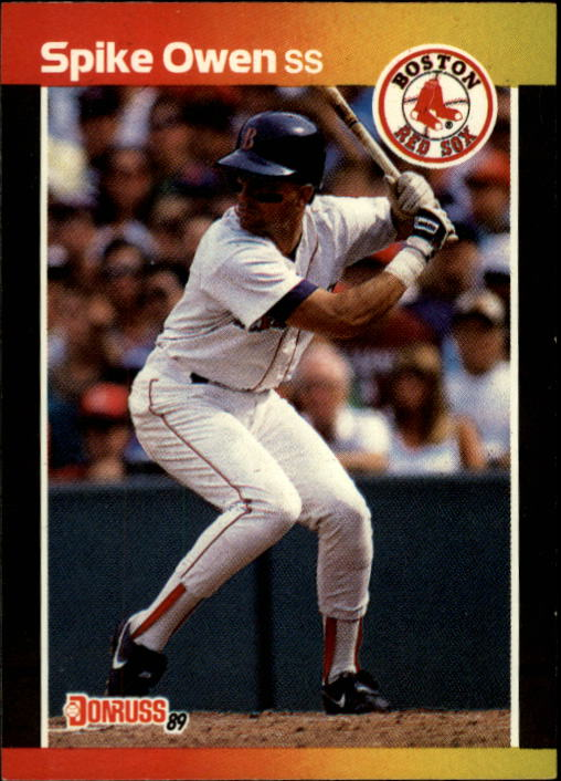 1989 Donruss #593 Spike Owen DP